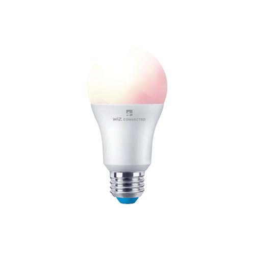 4lite WiZ Connected A60 Multicolour Dimmable WiFi LED Smart Bulb - E27