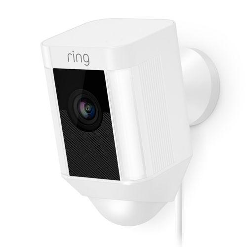 Ring Spotlight Cam Wired - White