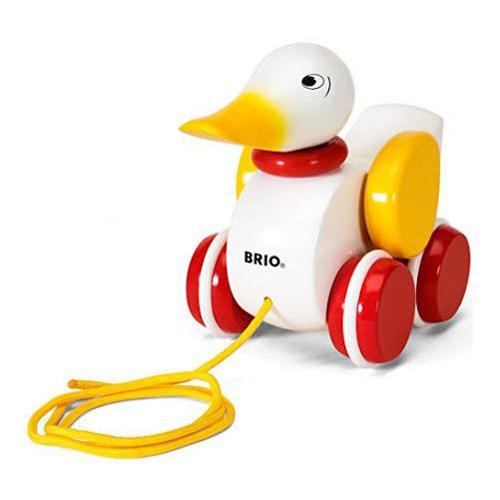 Pull-along Duck - White