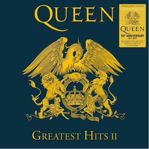 Queen Collectors Edition Record Sleeve Official 2021 Calendar