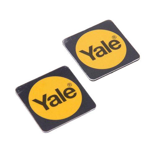 Yale 2 Pack Black Phone Tags