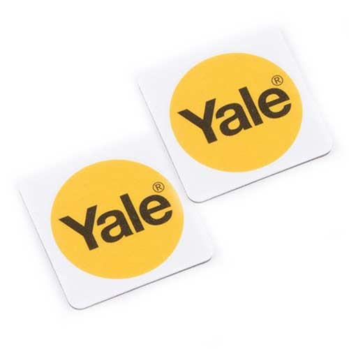Yale 2 Pack White Phone Tags